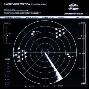 SSR010 – UFO! ENEMY INFILTRATION (E-SASSIN REMIX) / E-SASSIN ROKKIT (UFO! REMIX)